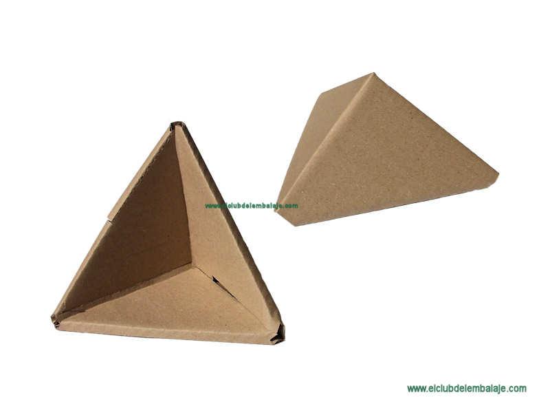 Esquinera de cart n piramidal - Esquineras de pared ...